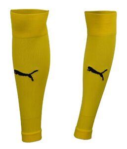 Puma Men Team-goal 23 Soccer Socks Stocking Yellow 1 Pairs Knee Sock 70426407