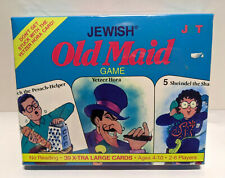 Jewish Old Maid Card Game New Sealed