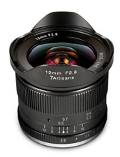 ✮ 7Artisans 12mm f/2.8 Wide-Angle manual lens for Fuji FX (XF,XC) mount ✮12/2.8