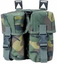 Web-tex Twin Ammo Pouch Webbing, Army, Cadets etc, NEW (Not surplus).