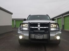 White Angel Eye Fog Lamps Halo Driving Lights Kit for 2007-2012 Dodge Nitro