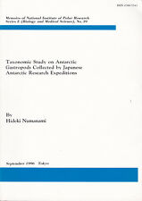 Taxonomic study on Antarctic gastropods collected by japanese antarctic...