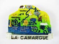 Magnet La Camargue Landkarte Polyresin,Souvenir Frankreich France,Neu *