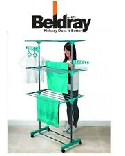 Beldray 3 Tier Deluxe Clothes Airer LAUNDRY DRYER STAND HORSE FOLDABLE LA023773T