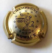 capsule de champagne NOWACK n° 35 cuvée J.O 2004