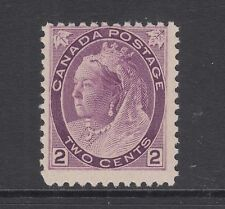Canada Sc 76 MNH. 1898 2c purple Queen Victoria Numeral, usual centering