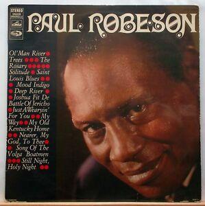 LP PAUL ROBESON - OL' MAN RIVER BIEM Label EMI CHTX 240647