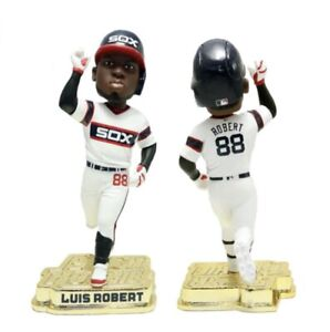 "LUIS ROBERT Chicago White Sox MLB ""Rookie Star"" GOLD BASE Bobblehead #/100 NIB!"