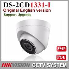 Hikvision DS-2CD1331-I 3MP 1080P Mini Turret IP PoE CCTV Camera English Version