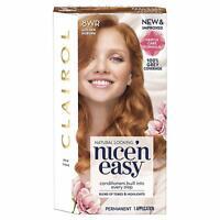 Clairol Nice 'N Easy Permanent Hair Dye, 8WR Golden Auburn, 1 application