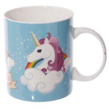 Tasse Einhorn Unicorn  I Don`t Believe in Humans Porzellan Kaffeetasse