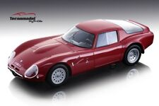 Alfa Romeo Tz2 1965 Press Version Red 1:18 Model TECNOMODEL