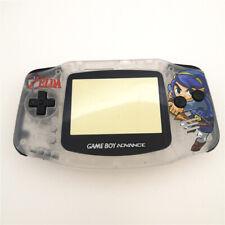 Zelda Gehäuse Hülle Case Shell für Nintendo Game Boy Advance GBA -Clear White