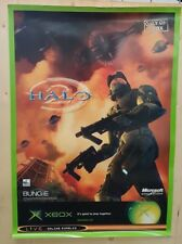 Halo 2 Official Promo Launch Poster 84x60cm A1 Xbox Original - Very Rare