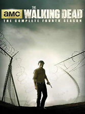 The Walking Dead : Season 4 (DVD, 2014, 4-Disc Set)
