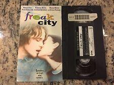 FREAK CITY OOP VHS! NOT ON U.S. DVD 1999 MARLEE MATLIN, SAMANTHA MATHIS COMEDY!