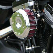S&S Chrome Mini Teardrop Stealth Air Cleaner Kit For Harley Sportster 1991-2006