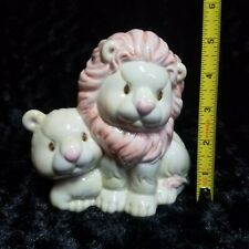 New ListingEnesco 1997 Lions Piggy Bank