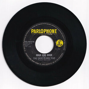 Philippines THE DAVE CLARK FIVE Over And Over 45 rpm Record