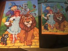 Vintage Children's SPRINGBOK The Wizard of Oz Jigsaw Puzzle 100pcs Complete