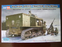 Hobbyboss 82407 1/35 USArmy M4 High Speed Tractor(3-in./90mm) Plastic Model Kit