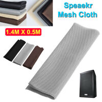 1.4mx0.5m Speaker Grill Cloth Dustproof Fabric Cover Mesh for Audio Subwoofer SS