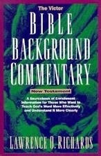 The Home Bible Study Library: Bible Background Commentary : New Testament by Law