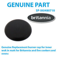 NEW WORLD Genuine oven cooker hob Semi-Rapid Burner Cap 75mm 219910081