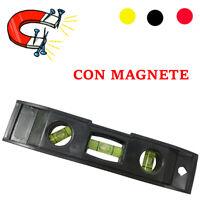 Mini Livella Magnetica A Bolla D'Aria Precisione Tascabile 3 Bolle Lavoro 3147