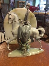 "LLADRO PORCELAIN ""WOMAN ON HORSE"" FIGURINE # 4516-EXCELLENT CONDITION"
