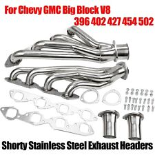 Shorty Stainless Steel Headers For Chevy Gmc Big Block V8 396 402 427 454 502