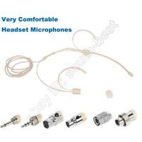 New Double ear Headset Microphone Mics for Shure Sennheiser AKG Audio-Technica