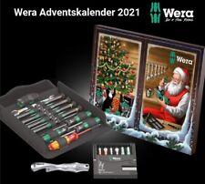 Wera Adventskalender 2021 Wera 24-tlg. Weihnachtskalender 05136602001