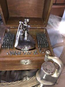 Vintage Watch-craft Tool Set Repair Tool Watch Clock Jeweler Watchmaker Punch