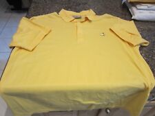 Augusta National Golf Polo Shirt - Yellow - XL - Masters