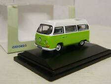 Oxford Diecast 1:76/OO VW Camper Lime Green/White 76VW012