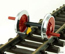 LGB 144849 Ersatzteil Achse / Radsatz mit Kurbelzapfen für 28001/28002 Spur G