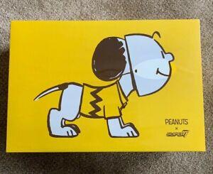 "New SDCC 2019 Super7 Peanuts Snoopy Charlie Brown Mask 16"" Vinyl Figure Super 7"