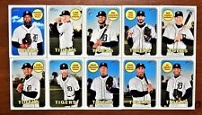 Detroit Tigers Team Set (10)  2018 Topps Heritage High Numbers