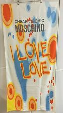 "MOSCHINO CHEAP AND CHIC I LOVE LOVE TOWEL ""BRAND NEW"""