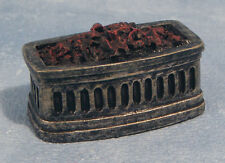 Bowed Fire Grate, Dolls House Miniature, Fireplace 1.12 Scale