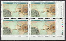 CANADA #1407 84¢ Canada 92 - Encounter Columbus LR Inscription Block MNH