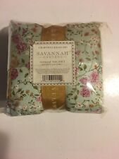 Crabtree & Evelyn SAVANNAH GARDENS Scented Sachets (3 Pillows) New RARE SEALED