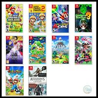Nintendo Switch Video Games Mario Luigi Yoshi Zelda Splatoon Assasin Fire Emblem