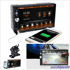 "DC12V 7"" HD 2-Din 7023D Car Off-Road Stereo Audio MP5 Player & Reversing Camera"