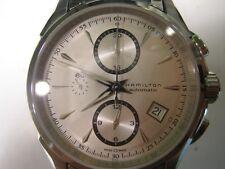 HAMILTON JAZZ MASTER MEN'S WATCH AUTOMATIC ALL S/S SAPPHIRE SWISS H32616153 NEW