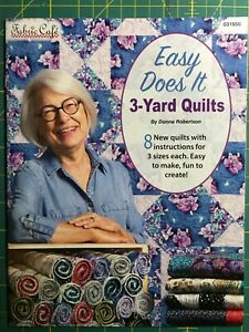Easy Does It 3 Yard Quilts by Donna Robertson for Fabric Cafe