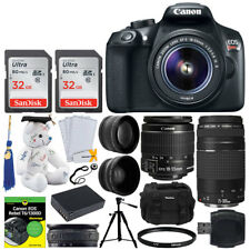 Canon EOS Rebel SL2 24.2 MP Digital Camera - Black (EF-S 18-55mm)
