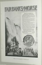1920 Fairbanks Morse advertisement, Z engine, C-O engine, Y engine