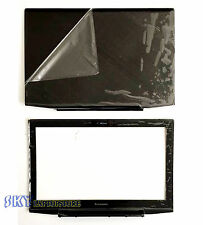 """New/Orig Lenovo Y50-70 15.6"""" Lcd Back Cover AM14R000400 + Front Bezel Non-touch"""